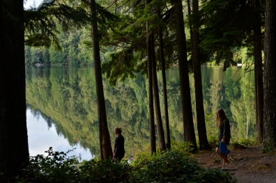 Morgenschwumm im Alice Lake Park