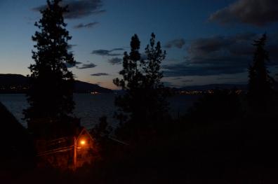 Aussicht zum Okanagan-See