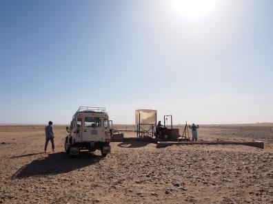 Wasser inmitten der Wüste