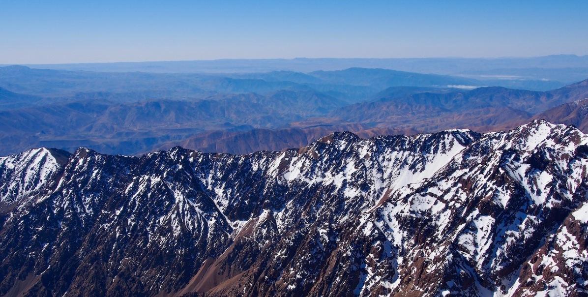 Aussicht vom Jebel Toubkal