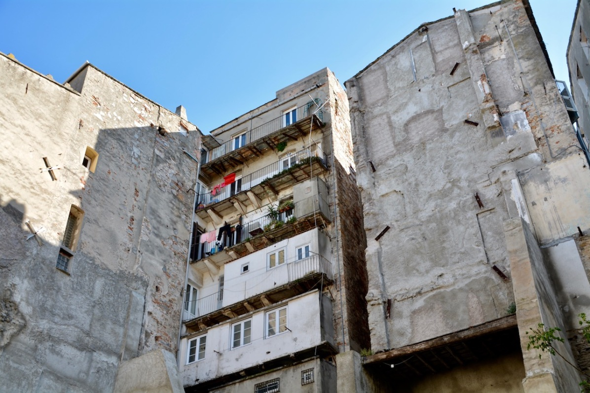 Häuserblock in Bastia