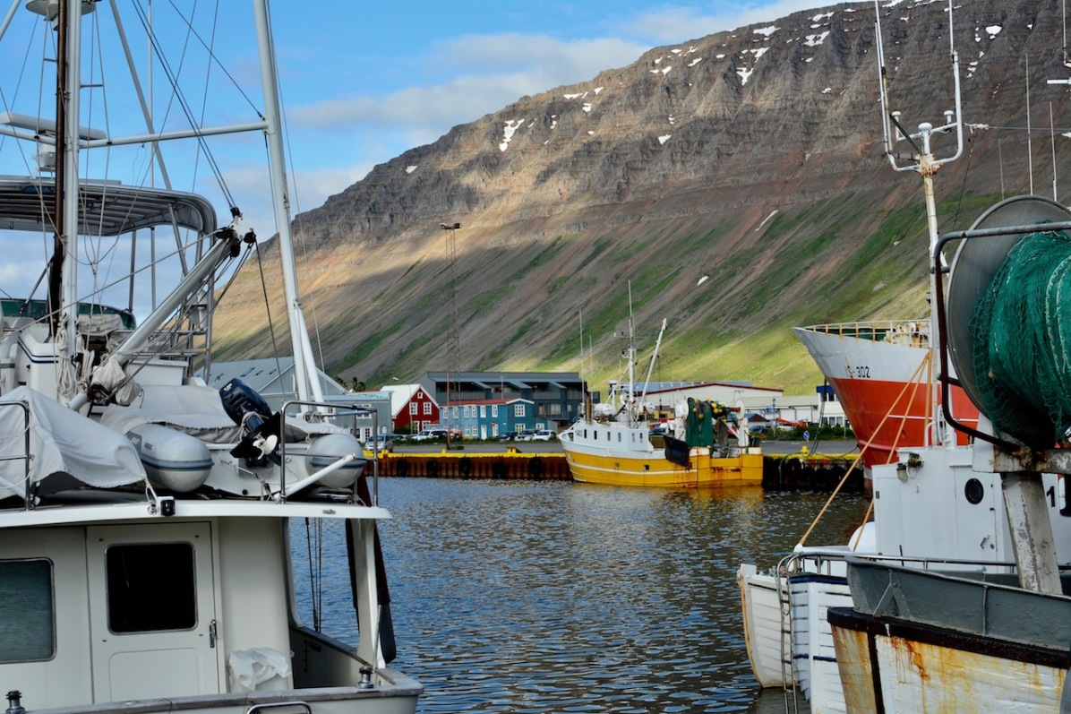 Hafen von Ísafjörður