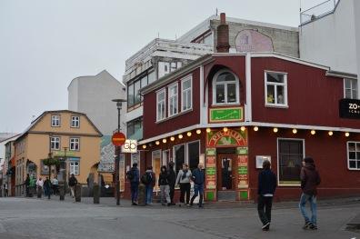 Shopping Strasse von Reykjavik