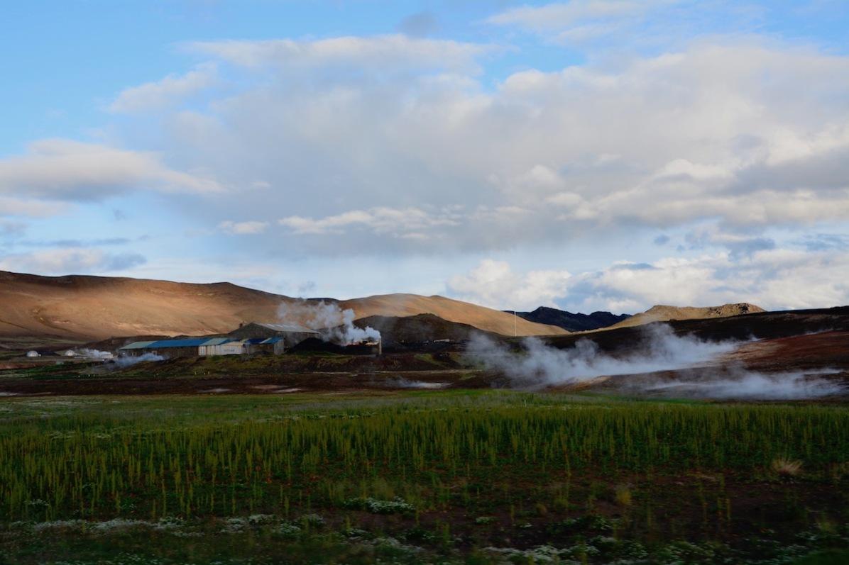 Geothermale Felder