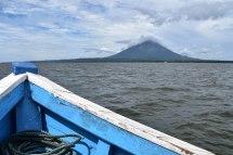 Blick auf die Vulkaninsel Ometepe