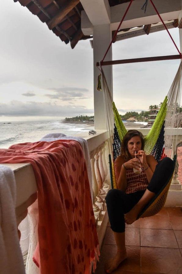 Balkon mit Blick au den Strand - Room Miramar